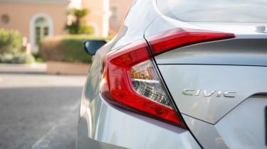 Honda Civic Saloon - rear detail