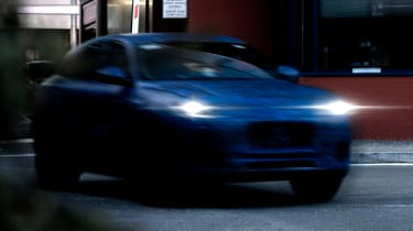 Maserati Grecale teaser - front