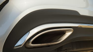 Used Mercedes E-Class - exhaust