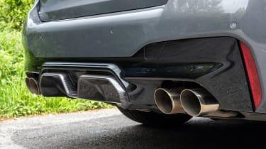 BMW M5 CS - exhausts