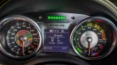 Mercedes SLS Electric Drive dials
