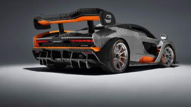 Lego McLaren Senna - rear