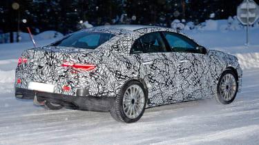 Mercedes CLA spied - rear