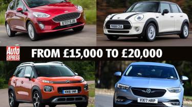 Best Company Cars from £15k - £20k - header