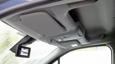 Citroen Berlingo Van overhead storage