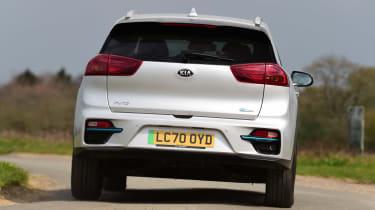 Kia e-Niro - rear cornering