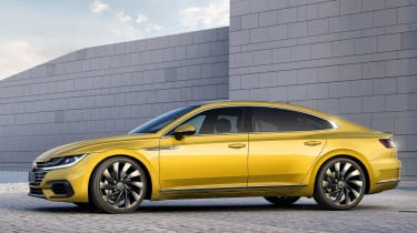 Volkswagen Arteon official - R-Line side