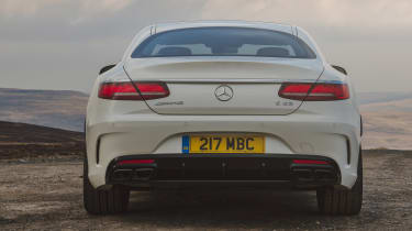 Mercedes-AMG S 63 Coupe - full rear static