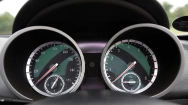 Used Mercedes SLK - dials