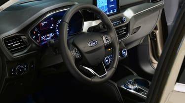 New Ford Focus studio - steering wheel