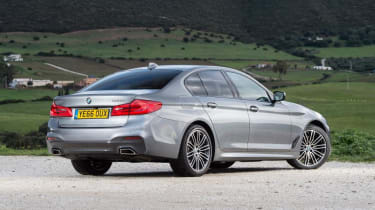 BMW 5 Series - rear static