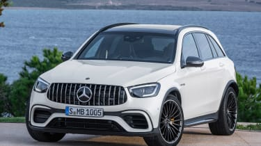 Mercedes-AMG GLC 63 - front static