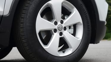 Vauxhall Mokka X - wheel detail