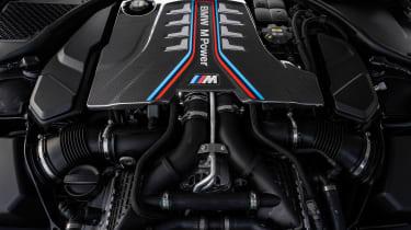 BMW M8 Gran Coupe - engine