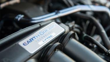 Honda Jazz - engine detail