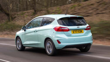 Ford Fiesta long term test - first report rear