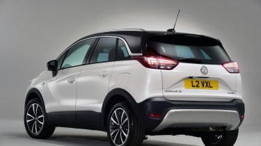 Vauxhall Crossland X rear studio