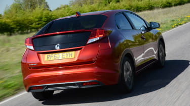 Honda Civic 2014 rear tracking