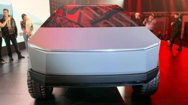 Tesla Cybertruck - reveal full front