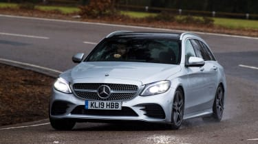 Mercedes C-Class Estate - cornering