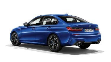 BMW 3 Series - rear static blue