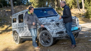 Mercedes G-Class prototype - interview