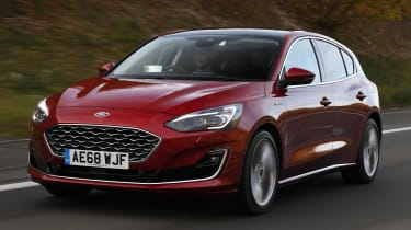 Ford Focus Vignale - front tracking
