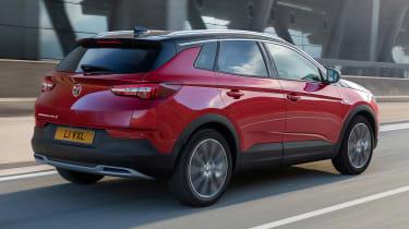 Vauxhall Grandland X Hybrid4 - rear