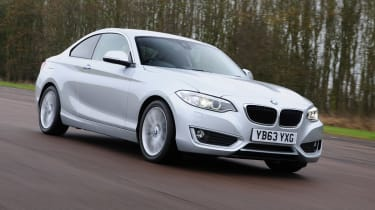 BMW 2 Series 220d front tracking