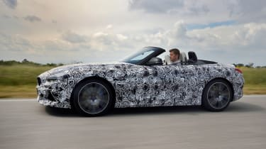 BMW Z4 prototype - side