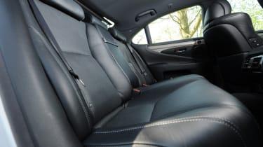 Lexus LS rear seats