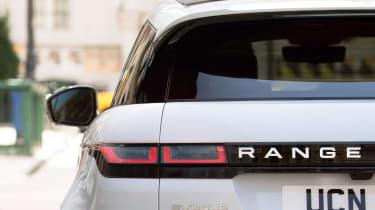 New Range Rover Evoque - rear lights
