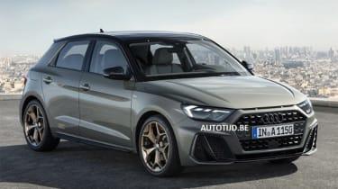Audi A1 - leak grey front