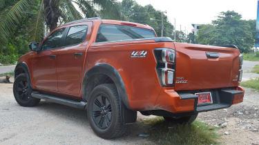 Isuzu D-Max - rear static