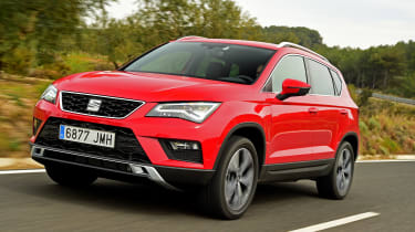 SEAT Ateca - front tracking