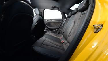 Audi S3 Saloon 2017 - rear seats