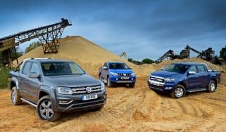 Volkswagen Amarok vs Mitsubishi L200 vs Ford Ranger - header
