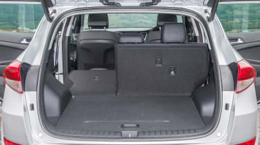 Hyundai Tucson - boot