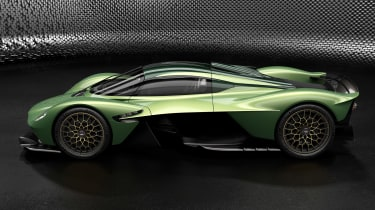 Aston Martin Valkyrie Mantis - side