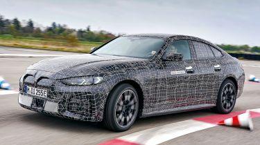 BMW i4 prototype - front