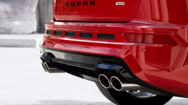 Cupra Ateca - exhaust