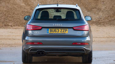 Used Audi Q3 - full rear