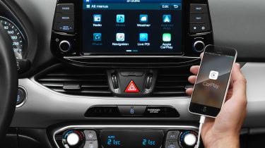 Hyundai i30 2017 - infotainment studio