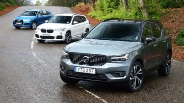 Volvo XC40 vs Audi Q3 vs BMW X1 - header