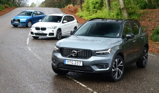 Volvo XC40 vs Audi Q3 vs BMW X1 - header