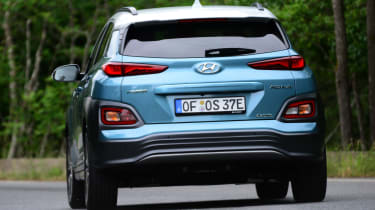 Hyundai Kona electric boot lid