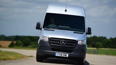 Mercedes Sprinter Van of the Year 2018 head on