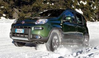 Fiat Panda 4x4 front side