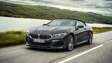 BMW 8 Series Convertible - front tracking