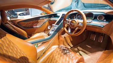 Bentley EXP 10 Speed 6 feature - interior